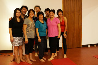 Yoga class in Singapore - Tanjong Pagar
